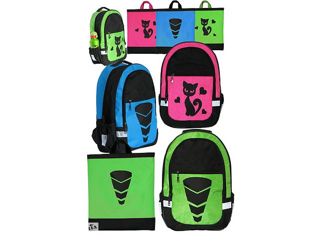 продам Школьный комплект в едином стиле! Рюкзак и сумка от RLB Харьков бу в Харькове