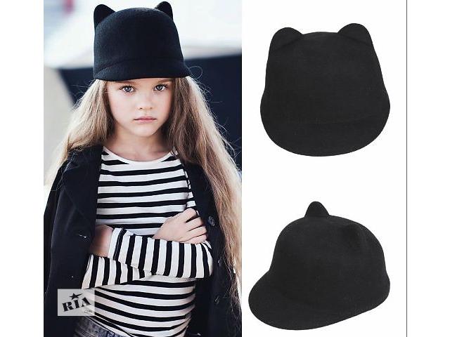 Шляпа кошка шапка кепка шляпка с ушками - Дитячий одяг в Україні на ... b2a4727047104