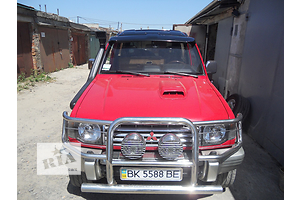 Новые Воздухозаборники Mitsubishi Pajero Sport