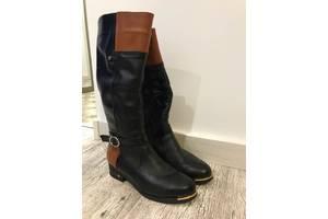 Женские зимние кожаные сапоги на танкетке - Жіноче взуття в Харкові ... 916b54631236e