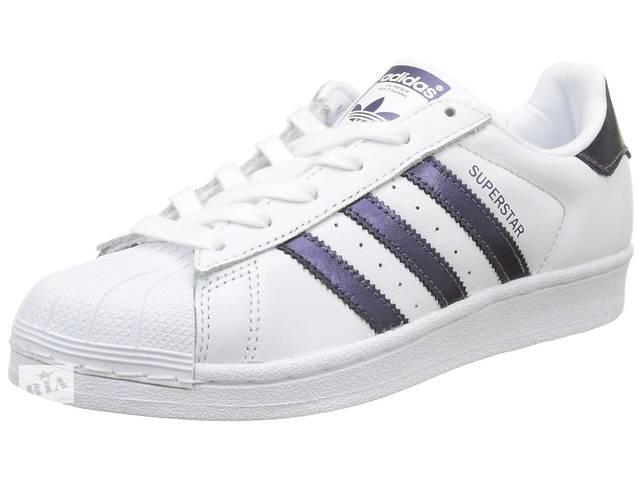 153e99281 купить бу Кроссовки Adidas Superstar W 37.5 Белые (4059322625169) в Киеве