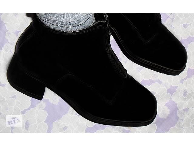 бу Натуральные кожаные ботинки, ботильоны, полусапожки Vera Gomma, Италия в Мукачево