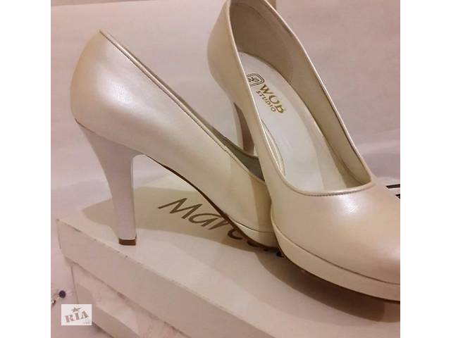 Туфлі весільні ШКІРА  bda27fc299875