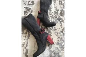 Шикарні жіночі зимові чоботи - ботфорти ! Італія! Vero Cuoio ... c77e94b45955c