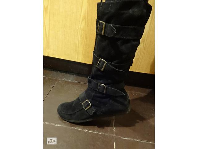 Замшеві чоботи з хутром. - Жіноче взуття в Тернополі на RIA.com 2ca9ced9d2a1f