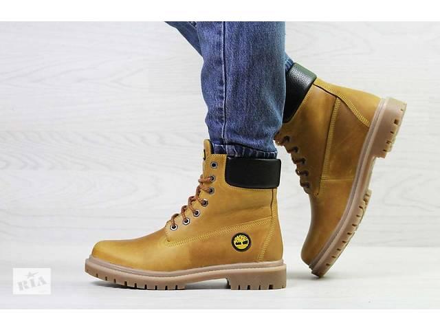 продам Женские ботинки зимние рыжие Timberland 6942 бу в Киеве