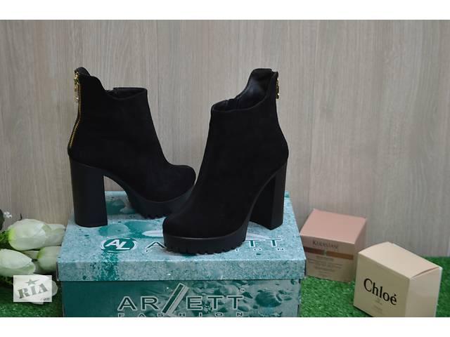 бу Женские кожанные  ботинки в Хмельницком