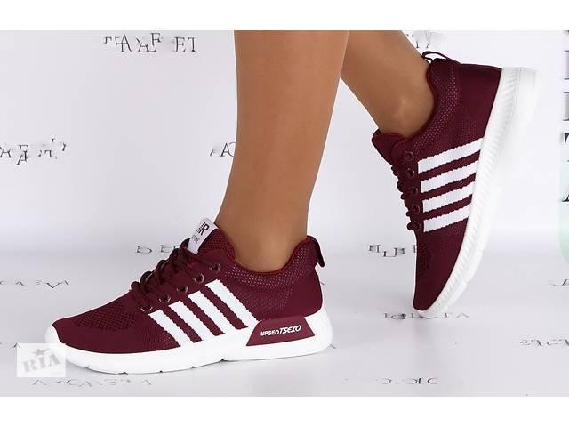 бу Жіночі кросівки Nike Adidas Адідас найк бордові червоні a84c1e4c2b9c6