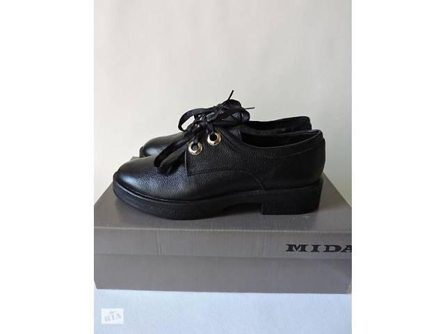 995b3af145ba70 Жіночі осінні шкіряні туфлі Mida - Жіноче взуття в Києві на RIA.com
