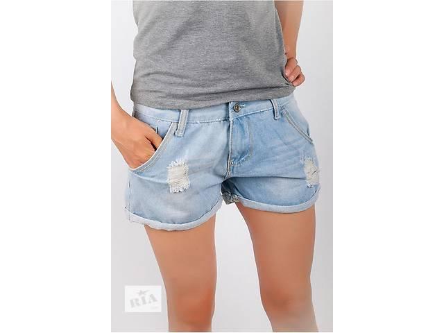 бу Шорты джинс женские рваные  в Запорожье