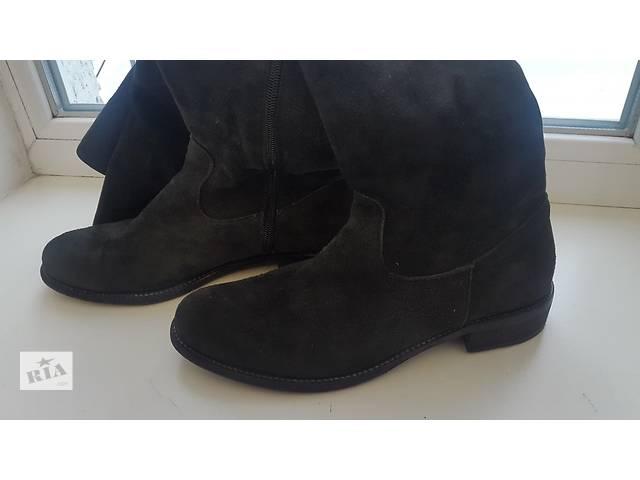бу Шикарні жіночі зимові чоботи - ботфорти ! Італія! Vero Cuoio! в Маневичах e21920dd63704