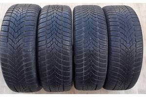 Шини 205/55/16 Dunlop WinterSport 4D 2х8мм 2х6.5 mm протектор зимова гума
