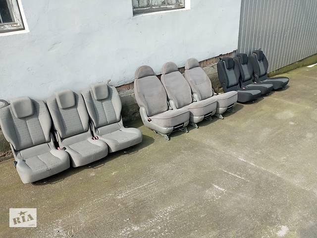 купить бу Сідушки сиденья крісла Шаран Sharan 3 шт трансформери Renault Scenic в Ровно