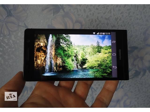 продам Смартфон Huawei Ascend P6-U06 Black. Оригинал! Состояние! бу в Сумах