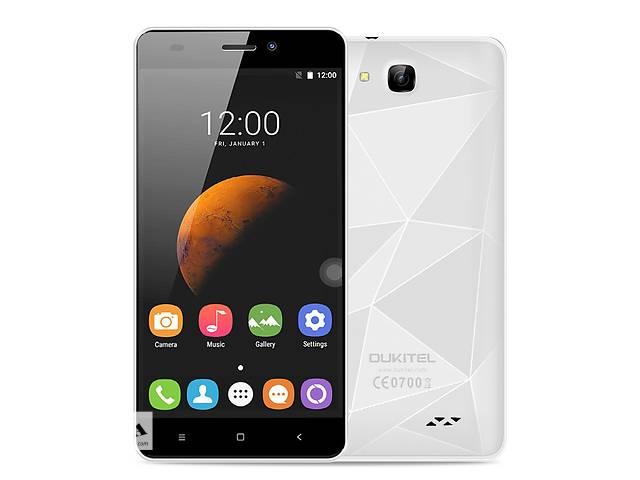Смартфон Oukitel C3 Quad Core MTK6580A, 1280x720, 1/8Gb White- объявление о продаже  в Львове