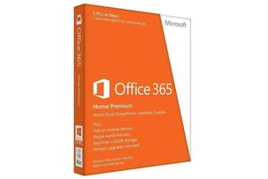 ПО Microsoft Office365 Home 5 User 1 Year Subscription Russian Medialess P4 (6GQ-01018)