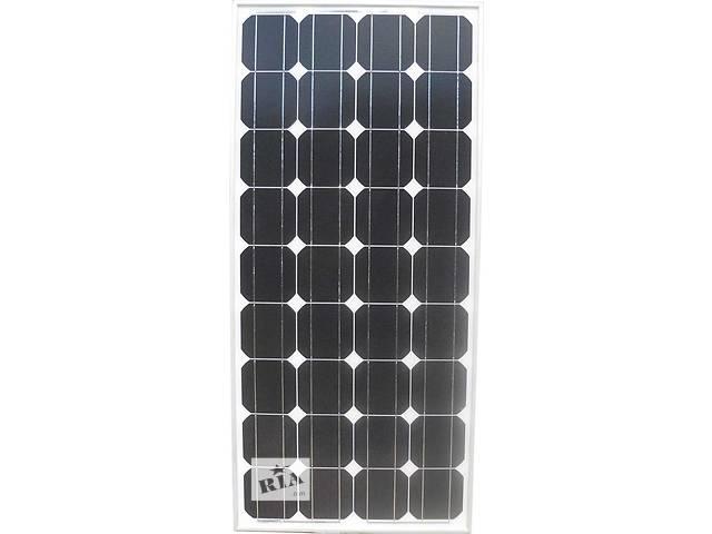 бу Солнечная батарея (панель) 100Вт, 12В, монокристаллическая, в Запорожье