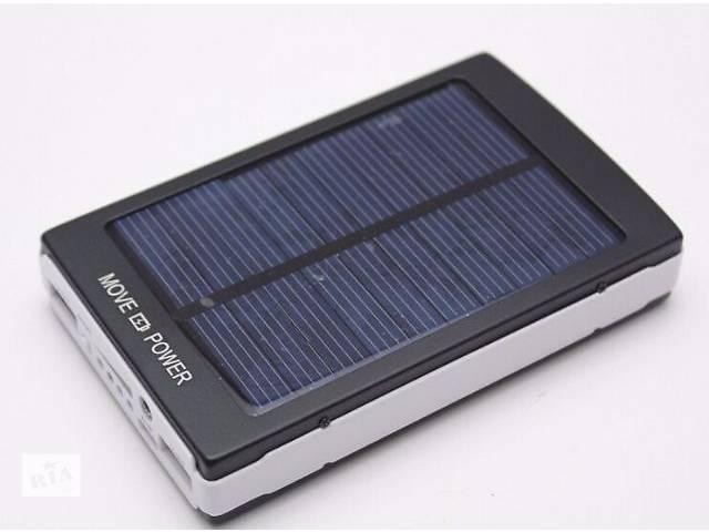 бу Солнечная батарея панель зарядное устройство многофункциональное USB 30000 мАч в Киеве