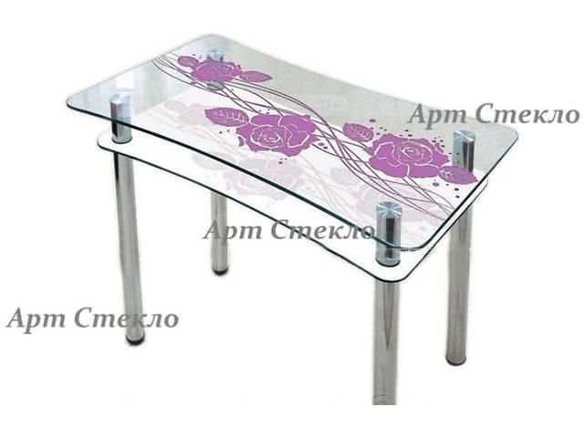 Современные обеденные столы из стекла- объявление о продаже  в Дружковке
