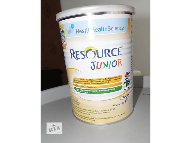 Специальное питание  Nestle Resource Junior с ванилью, 400 гр.- объявление о продаже   в Украине