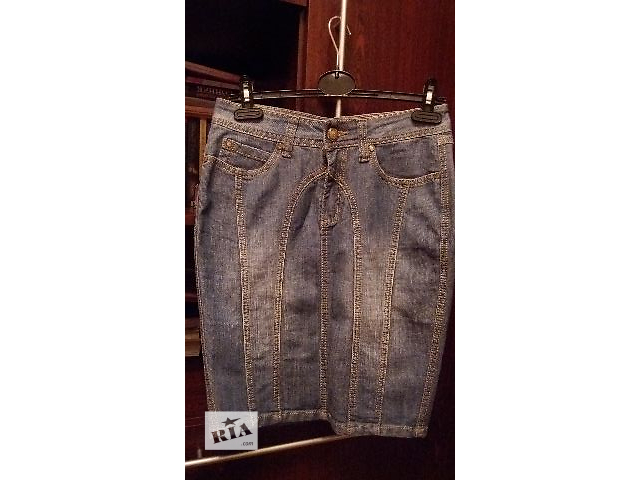 Спідниця джинсова синя нова- объявление о продаже  в Тернополе