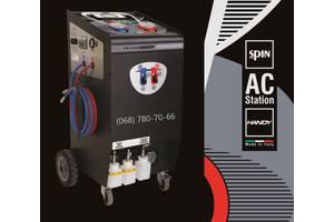 Spin Handy – установка для заправки автомобильных кондиционеров. Стенд для заправки автокондиционеров с принтером