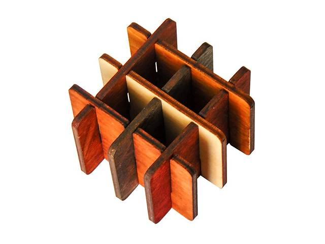 продам 3D-головоломка деревянная Крутиголовка Три на три (krut_0036) бу в Киеве