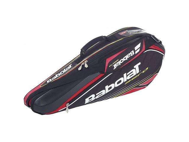 купить бу Чехол Babolat Racket Holder X 3 Aero black/red 2014 year в Одессе