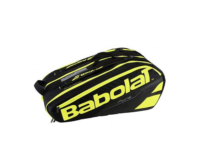 купить бу Чехол Babolat RH X 12 Pure black/fluo yellow в Одессе