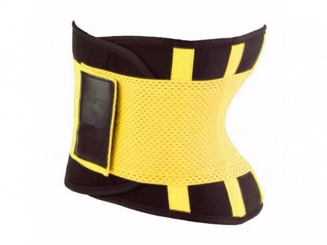 бу Пояс для похудения Hot Shapers Belt Power на липучке желтый, размер XL SKL11-141082 в Харькове