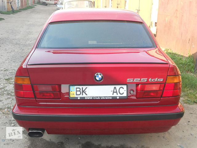 купить бу Спойлер BMW 5 series 88-95 (БМВ е34) в Ровно