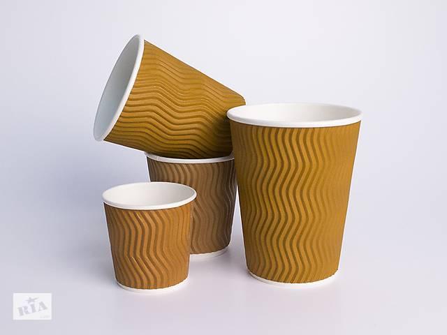 купить бу Стакан для кофе бумаж. Гофро в Виннице