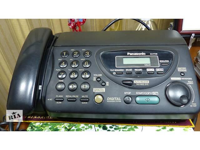 Стационарный телефон/факс/автоответчик PANASONIC KX-FT46 - объявление о продаже  в Черноморске (Ильичевск)
