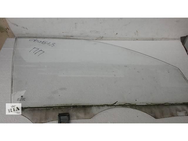 купить бу Стекло двери передне праве для легкового авто Skoda Fabia в Тернополе