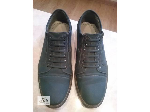 купить бу Стильные мужские туфли в Тернополе