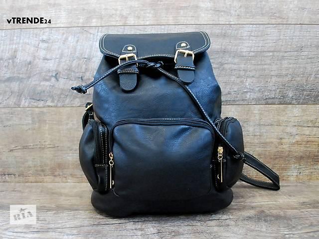 продам Стильный черный рюкзак бу в Одессе