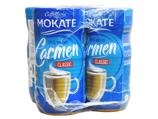 Сухие сливки Mokate Caffetteria Carmen Classic, 350 г, 4 шт- объявление о продаже  в Киеве