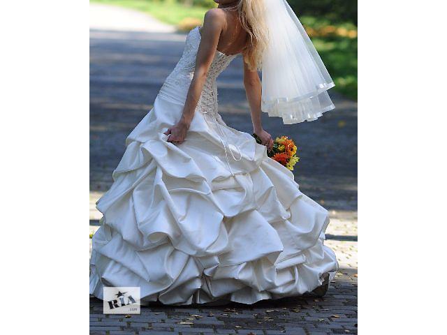 продам Свадебное платье цвета шампань бу в Дрогобыче