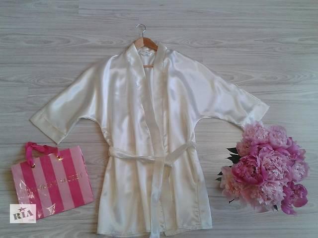 продам Свадебный атласный халат невесты бу в Ужгороде