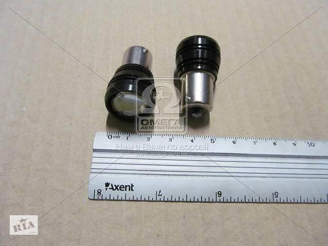 Светодиод G18,5, белый, BA15S, 24V, 1LED(3W), 1 контакт с линзой 18mm (пр-во Китай)- объявление о продаже  в Харькове