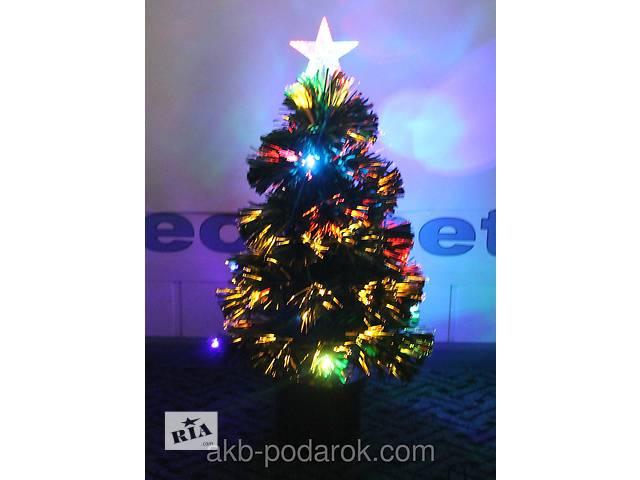 Светящаяся светодиодная оптоволоконная елка 60 см- объявление о продаже  в Киеве