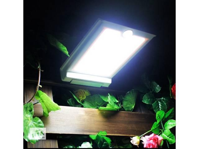 продам Светильник на солнечной батарее 46LED c датчиком движения и датчиком освещенности, фонарь бу в Южном (Одесской обл.) (Южный)