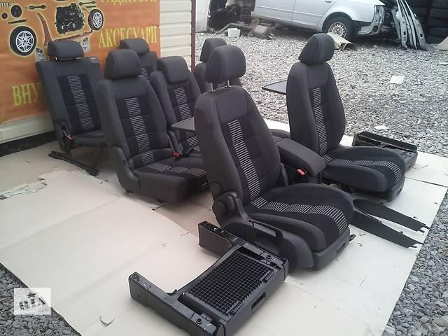 бу Сидіння для легкового авто Volkswagen Caddy Touran 2010 в Львове