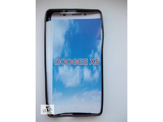 купить бу Силиконовый черный бампер для телефона Doogee X5 / X5 Pro в Киеве
