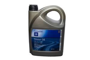 Синтетичне моторне масло dexos2 5w-30 5л GM