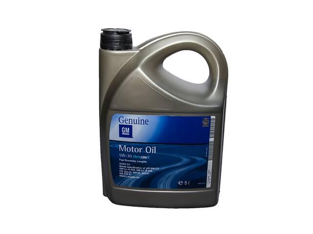 Синтетическое моторное масло dexos2 5w-30 5л GM- объявление о продаже   в Украине