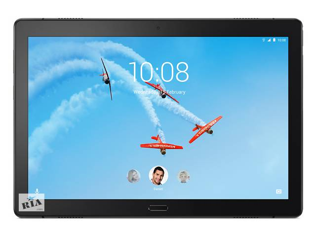 купить бу Планшет Lenovo Tab P10 X705L LTE 3/32GB Black (ZA450074UA) в Киеве