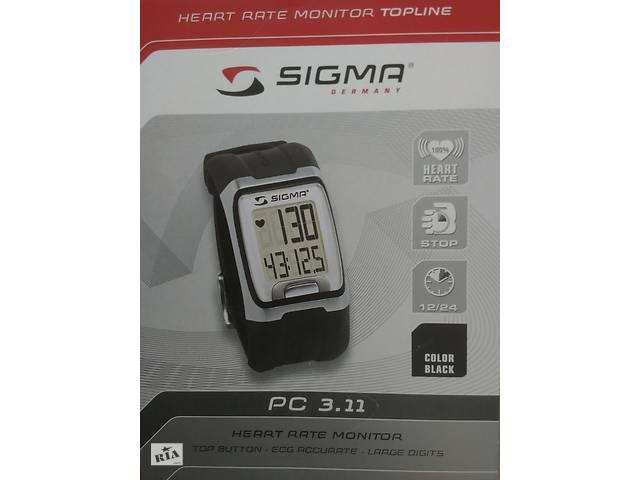 купить бу Пульсометр спортивный SIGMA PC 3.11, Монитор сердечного ритма PC 3.11 в Украинке