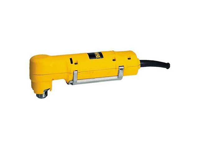 Дрель угловая 350Вт, 9.2 Нm, 0-1200 об/мин, ключ/патрон 10 мм, 1,7 кг DeWALT D21160- объявление о продаже  в Дубно