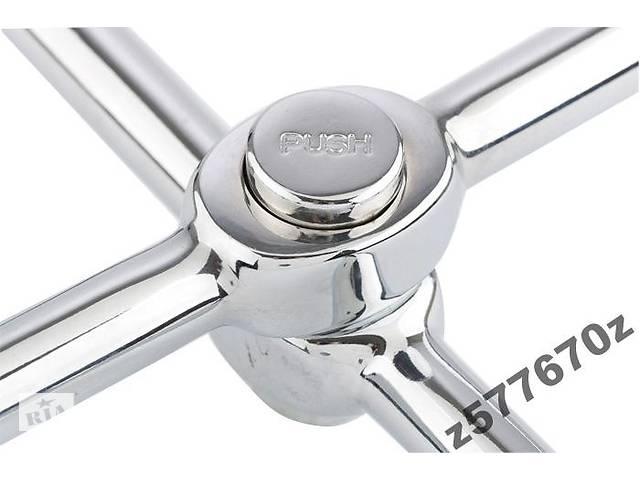 Ключ-крест баллонный, складной 17,19,21mm и 1/2